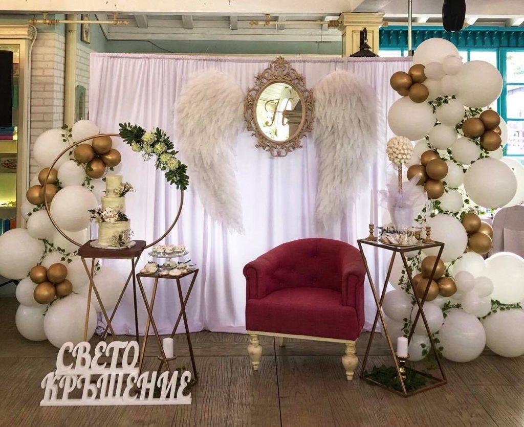 Уникална сватбена украса